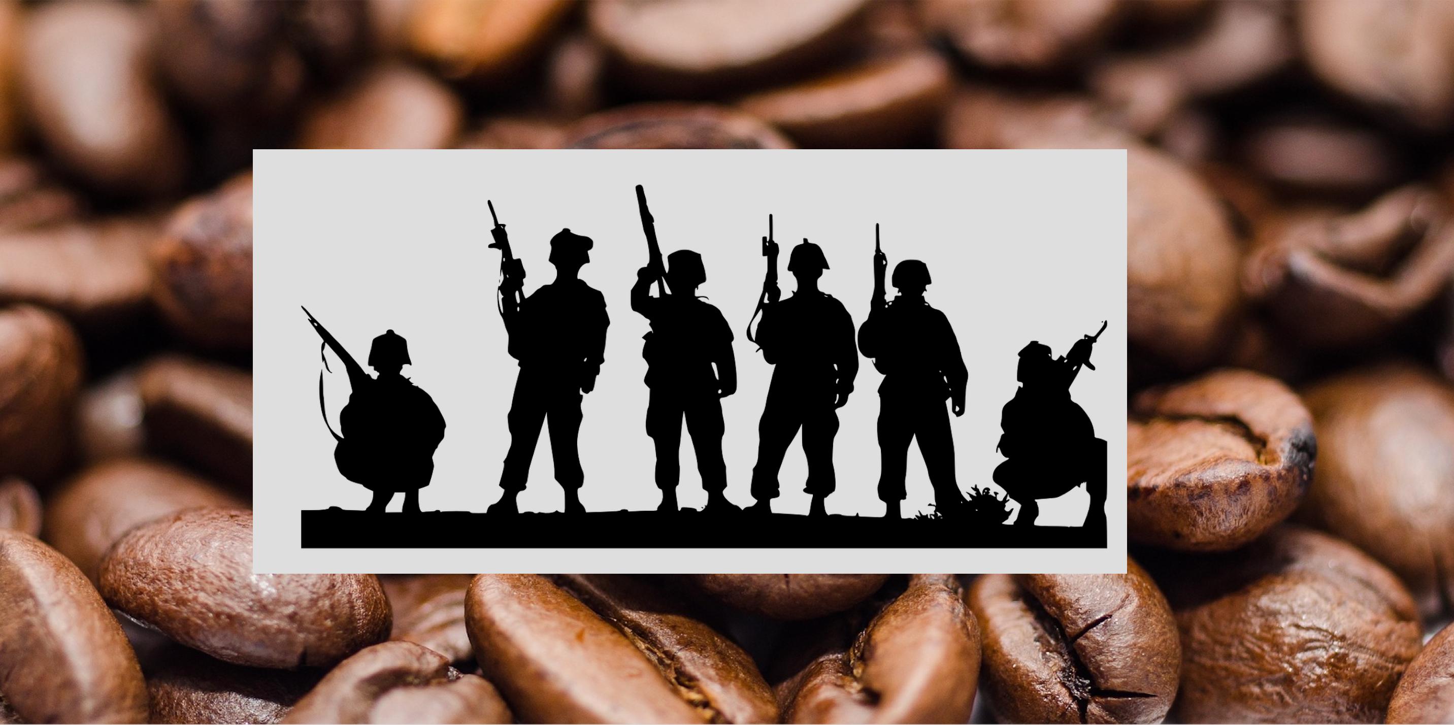 Caffè e militari