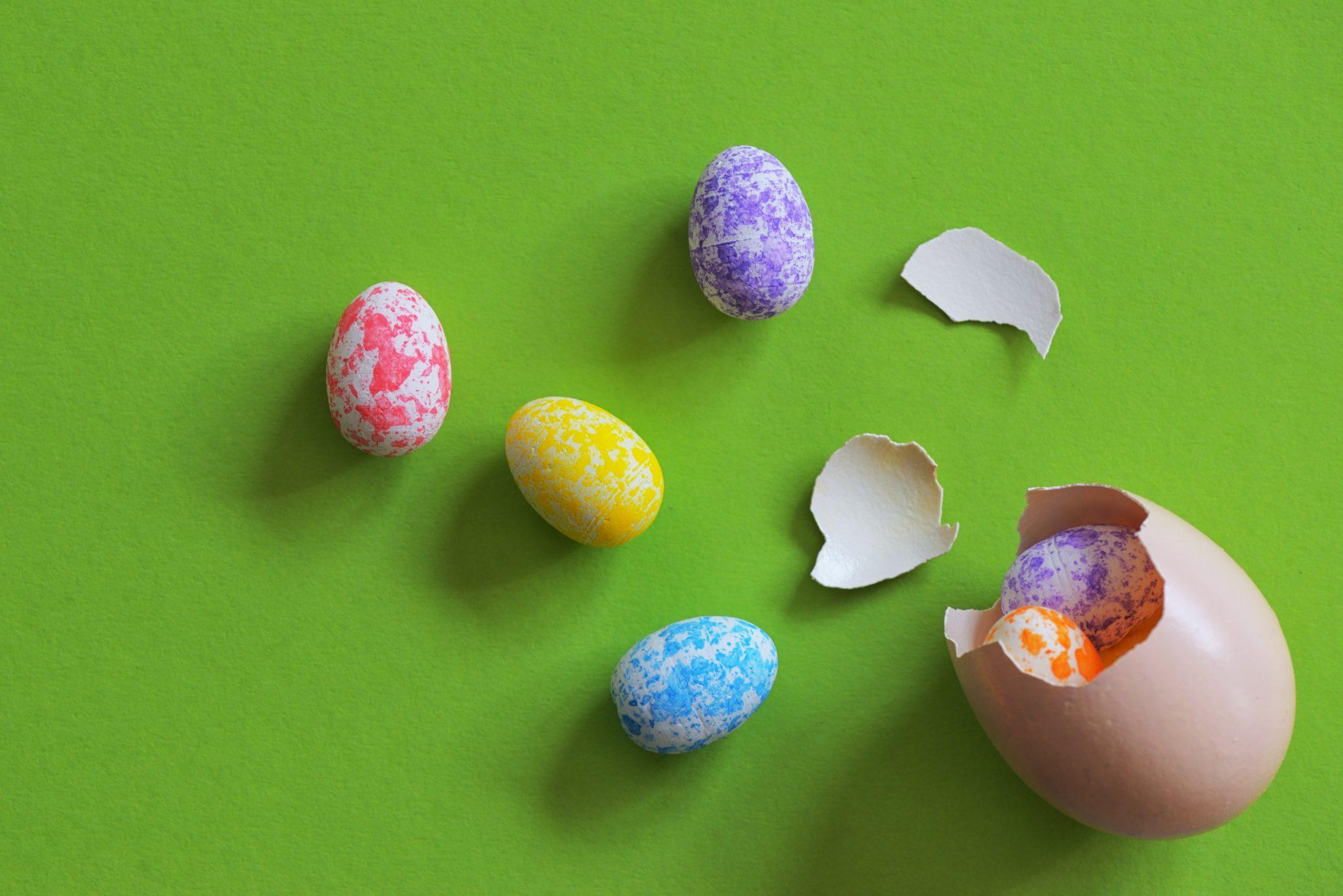 perché a pasqua mangiamo uova?