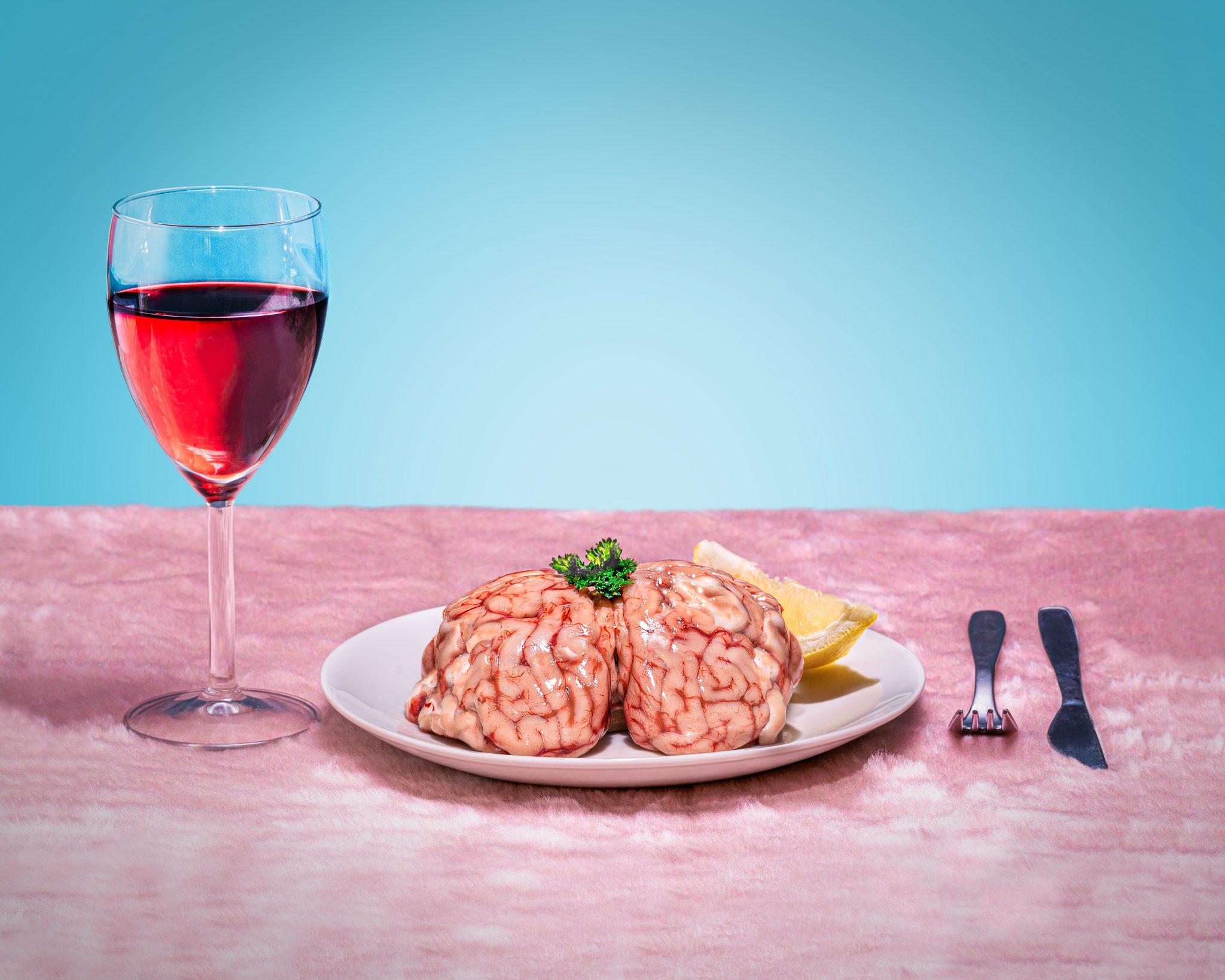cervello a tavola