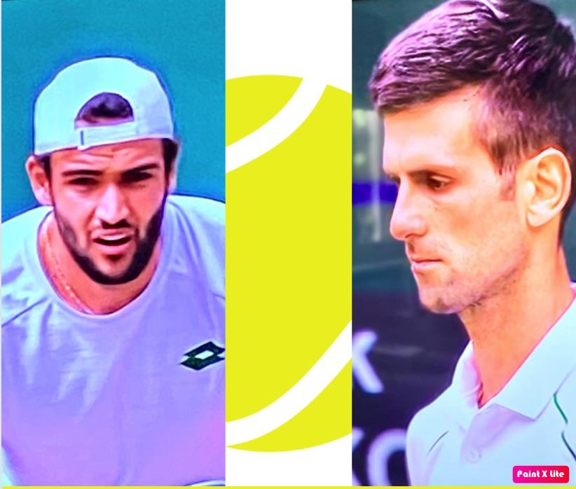 Djokovic-Berrettini: diete a confronto